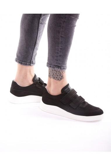 Sneakers Bigiottos Shoes Velco negri