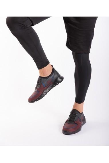 Pantofi sport Bigiottos Shoes 3275 bordo