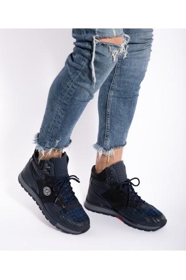 Pantofi sport Bigiottos Shoes Rock Star Blue albastri