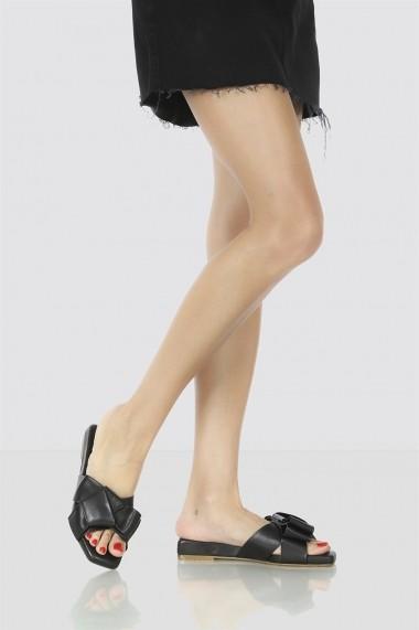 Saboti Bigiottos Shoes Comfy Slippers negri