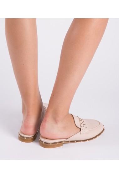Saboti Bigiottos Shoes cu tine roz