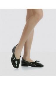Balerini Bigiottos Shoes lacuiti verde