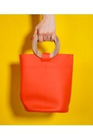 Geanta casual Bigiottos Shoes portocalie