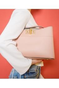 Geanta casual Bigiottos Shoes Pink Venice Bag roz