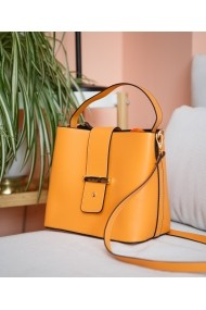 Geanta casual Bigiottos Shoes Orange Stardust Bag portocalie