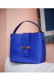Geanta casual Bigiottos Shoes Blue Stardust Bag albastra