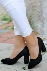 Pantofi cu toc AWON 8A73001SIS negru