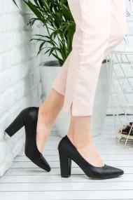Pantofi cu toc AWON 8A73001SIY negru