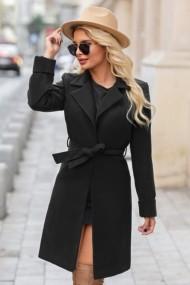 Palton Chic Diva Dolly Negru
