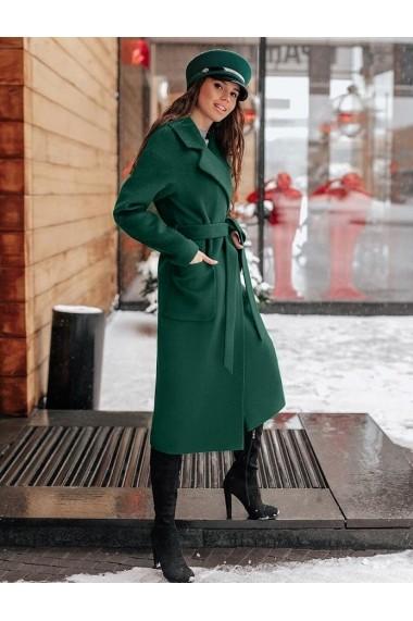 Palton Chic Diva Brianna Verde