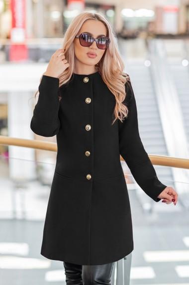 Palton Chic Diva Ruslana Negru