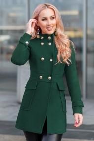 Palton Chic Diva Fiona Verde