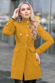 Palton Chic Diva Fiona Mustar
