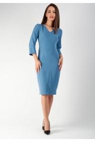Rochie Moze conica office P16926823-P71362 Bleu