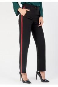 Pantaloni Moze cu banta laterala P19403722-3448 Negru