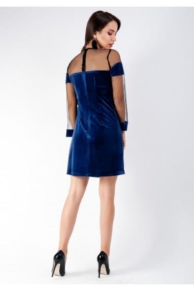 Rochie Moze fara cambraj P17460411-2004 Albastru