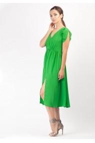 Rochie Moze midi din voal P25141748-3447 Verde