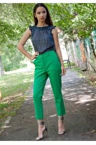 Pantaloni Moze slim subtire P25006717-3447 Verde
