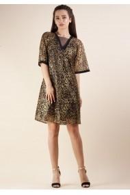 Rochie Moze print leopard P23976294-3447 Verde