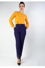 Pantaloni Moze cu dunga P23333977-3676 Bleumarin