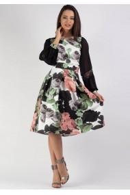 Rochie Moze in cute cu imprimeu P28265227-P27966 Florala