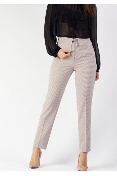 Pantalon cu clapete