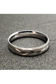 Inel tip verigheta din argint Silver