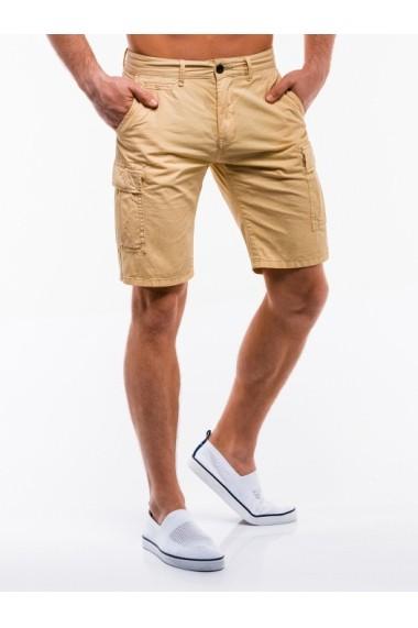 Pantaloni scurti barbati W209  beige
