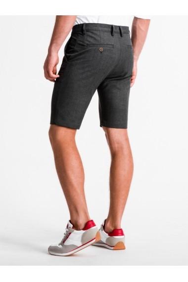 Pantaloni scurti premium barbati  W230 gri inchis