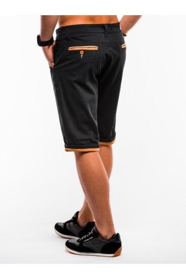 Pantaloni scurti barbati  W150 negru
