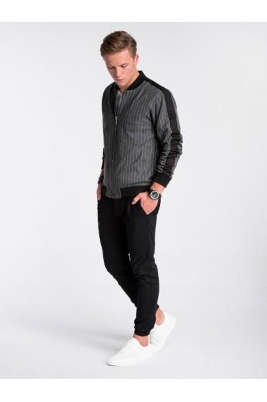 Bluza premium barbati  C423 gri inchis