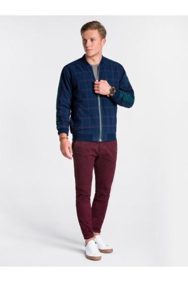 Bluza premium barbati  C424 bleumarin