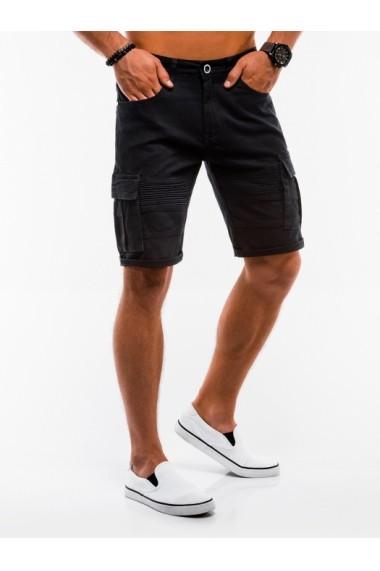 Pantaloni scurti barbati  W133 negru