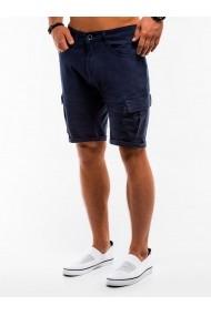 Pantaloni scurti barbati  W133 bleumarin