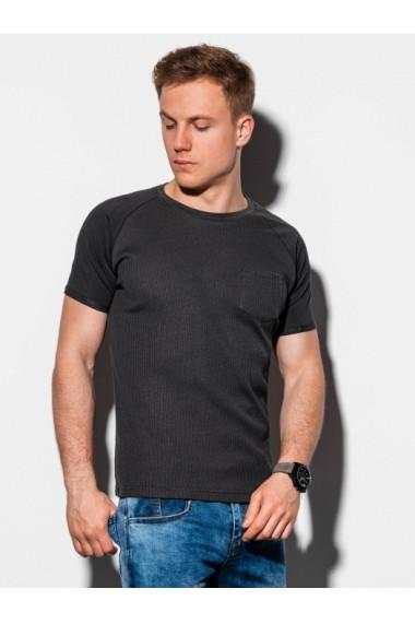 Tricou barbati S1182  negru