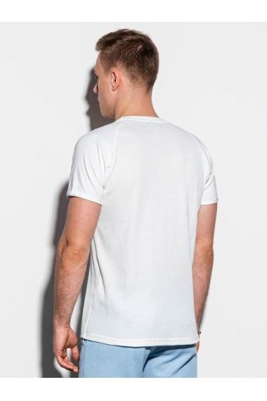Tricou barbati S1182  alb