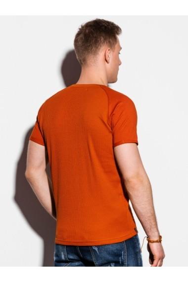 Tricou barbati S1182  portocaliu