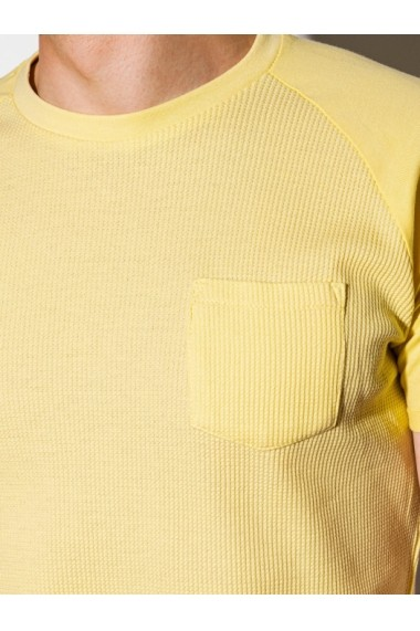Tricou barbati S1182  galben