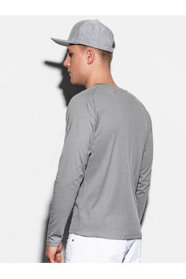 Bluza slim fit barbati L119  gri