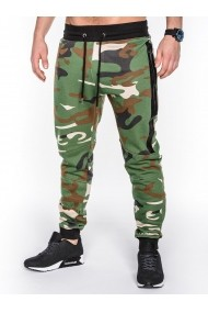 Pantaloni Ombre camuflaj stil militar army P467 Verde