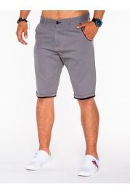 Pantaloni scurti Ombre cu buzunare laterale P520 Gri