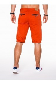 Pantaloni scurti Ombre cu buzunare laterale P520 Portocaliu