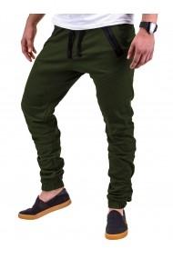 Pantaloni Ombre P389 Verde