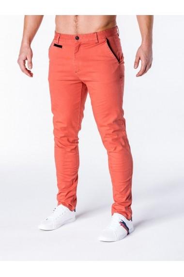 Pantaloni Ombre P646 Portocaliu