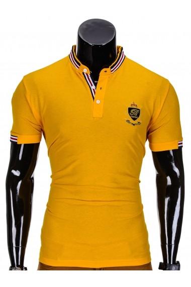 Tricou Ombre S849 Galben