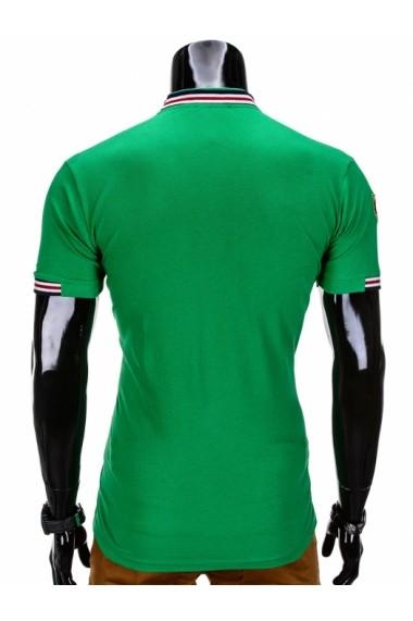 Tricou Ombre S849 Verde