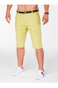 Pantaloni scurti Ombre P402 Galben