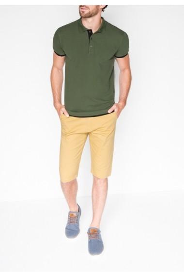 Tricou Polo Ombre s758 Verde
