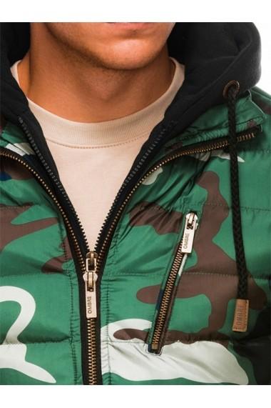 Geaca Ombre C384 Verde