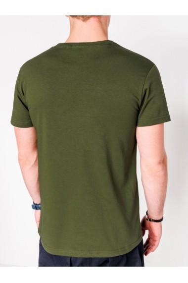 Tricou Ombre S1081 Verde